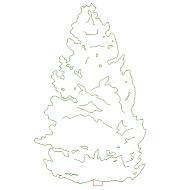 Dwg Cad Objekte: Tannenbaum
