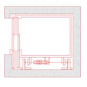 Dwg Cad Objekte: Fahrstuhl