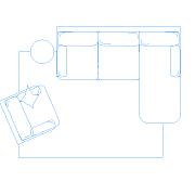 wohnzimmer dwg | cadobjekte, Hause ideen