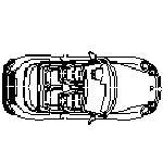 Dwg Cad Objekte: Porsche Cabrio