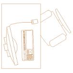 Dwg Cad Objekte: Büro Schreibtisch  (4)