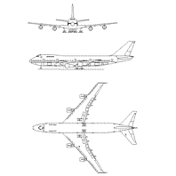 Dwg Cad Objekte: Boeing Flugzeug