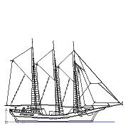 Dwg Cad Objekte: Segelschiff
