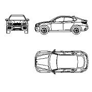 Dwg Cad Objekte: BMW X6