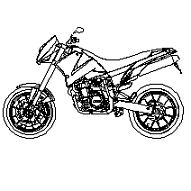 Dwg Cad Objekte: KTM Motorrad