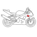 Dwg Cad Objekte: Suzuki 600 GSXR