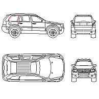 Dwg Cad Objekte: Volvo XC90