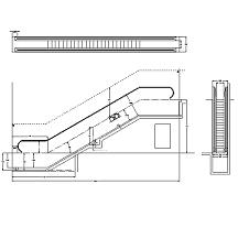 Dwg Cad Objekte: Rolltreppe