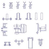 Dwg Cad Objekte: Fitnessgeräte