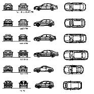 Dwg Cad Objekte: Audi Autos