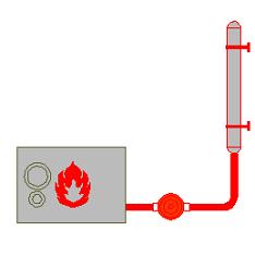 Dwg Cad Objekte: Heizung, Boiler